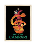 Reclameposter Bitter Campari, ca.1921 Gicléedruk van Leonetto Cappiello