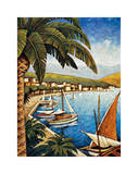 Cote d'Azur I Giclee Print by Thomas Young