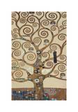 生命の樹(The Tree of Life、ストックレー・フリーズ) ジクレープリント : グスタフ・クリムト