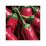 Hot Peppers Giclee Print by  Alma'ch