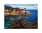 The Tuscan Coast Giclee Print by Elizabeth Wright