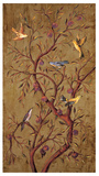 Plum Tree Panel I Giclee Print by Rodolfo Jimenez
