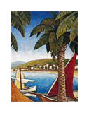 Cote d'Azur II Giclee Print by Thomas Young