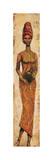 Mujer africana II Lámina giclée por Terence Halley