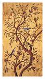 Plum Tree Panel I Giclée-tryk af Rodolfo Jimenez