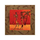 Sun Tribe I Giclee Print by  Kamba