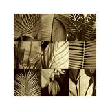 Tropical Leaves I Giclee Print by Caroline Kelly