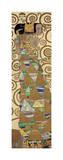 Förväntan, detalj av Stoclet-frisen, ca 1909 Gicleetryck av Gustav Klimt