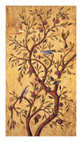 Rodolfo Jimenez - Plum Tree Panel I - Giclee Baskı
