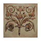 Decorative Scroll II Giclee Print by P. Segovia