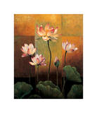 Lotus Giclee Print by Jill Deveraux