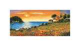 Sunlight Coast Giclee Print by Richard Leblanc