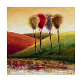 Endless Hills I Giclee Print by Mike Klung
