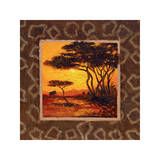 Savannah Sunset II Giclee Print by  Madou