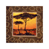 Savannah Sunset III Giclee Print by  Madou