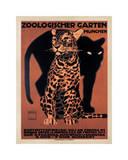 Zoologischer Garten, 1912 Reproduction procédé giclée