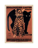 Zoologischer Garten, 1912 Giclee Print