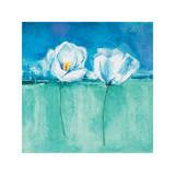 Fleurs d'Azur II Giclee Print by Isabelle Herbert