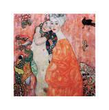 Le Amiche Giclée-Druck von Gustav Klimt