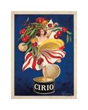Cirio Reproduction procédé giclée par Leonetto Cappiello