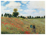 Coquelicots Giclee Print by Claude Monet