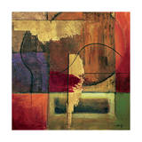 Opulent Relief II Giclee Print by Mike Klung