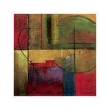 Opulent Relief I Giclee Print by Mike Klung