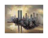 Reflections of Manhattan Giclee Print by Alexander Moore
