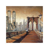 Manhattan Sunset II Giclee Print by Matthew Daniels