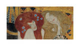 Beethoven Frieze (detail) Giclee Print by Gustav Klimt
