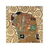 Fulfillment, Stoclet Frieze, c.1909 (detail) Gicléetryck av Gustav Klimt