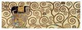 Förväntan, detalj av Stoclet-frisen, ca 1909 Gicléetryck av Gustav Klimt