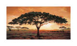 Memories of Masai Mara Giclee Print by  Madou