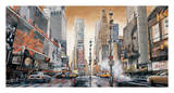 Crossroads, Times Square Giclée-tryk af Matthew Daniels