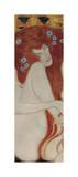 Beethoven Frieze (detail) Giclee Print by Gustav Klimt
