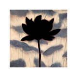 Blossom Silhouette I Giclee Print by Erin Lange