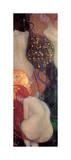 Goldfish Giclee Print by Gustav Klimt