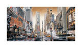 Crossroads, Times Square Giclee Print by Matthew Daniels
