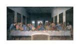 The Last Supper Giclee Print by  Leonardo da Vinci