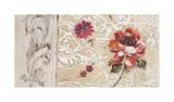 Fleurs Neoclassique I Giclee Print by Hélene Simon