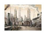 Departure, New York Giclee Print by Matthew Daniels