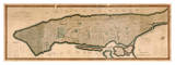 New York and the Island of Manhattan, 1812 Giclee Print by Peter Maverick