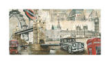 London Giclee Print by Tyler Burke