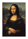 Mona Lisa, c.1507 Giclee Print by  Leonardo da Vinci