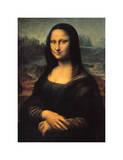 Mona Lisa, c.1507 Giclée-trykk av  Leonardo da Vinci