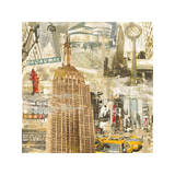 In New York City Giclee Print by Tyler Burke