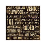 Los Angeles Giclee Print by Luke Wilson