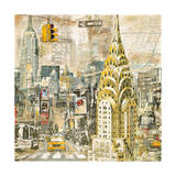 In Manhattan Giclee Print by Tyler Burke