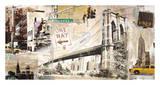 Manhattan Giclee Print by Tyler Burke