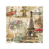 In Paris Giclée-tryk af Tyler Burke